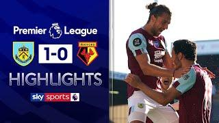 Jay Rodriguez damages Watford's hopes for survival | Burnley 1-0 Watford | Premier League Highlights