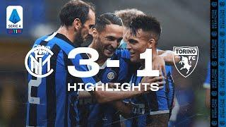 INTER 3-1 TORINO | HIGHLIGHTS | Nerazzurri come from behind to win!