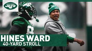 Dancing With The Stars Was Hines Ward's Scariest Moment | 40-Yard Stroll | New York Jets