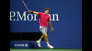 Dominic Thiem's BIG one-handed backhand! | US Open 2020 Hot Shots