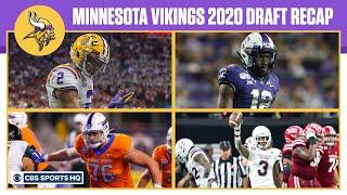 Vikings Had BEST Draft In NFC North with League-High 15 Picks | 2020 NFL Draft | CBS Sports HQ