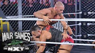 Adam Cole spikes Pat McAfee with a Panama Sunrise: NXT TakeOver: WarGames (WWE Network Exclusive)
