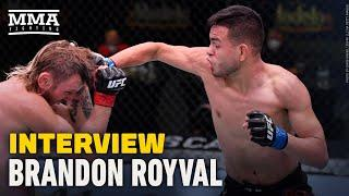 Brandon Royval Believes Fight With Brandon Moreno is True Main Event of UFC 255 - MMA Fighting