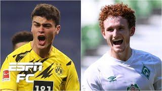 Gio Reyna vs. Josh Sargent! Dortmund will have 'fire in their bellies' vs. Werder Bremen | ESPN FC