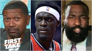'Pascal Siakam is ELITE!' - Kendrick Perkins takes on Jalen & Jacoby | First Take