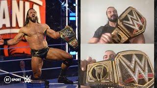 Drew McIntyre calls out Tyson Fury & Chris Sutton after becoming the first ever British WWE Champion