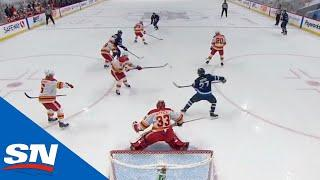 Nikolaj Ehlers Shows Off Incredible Skill With Tip-In Goal