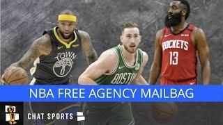 NBA Free Agency Rumors Mailbag: Boogie Cousins Fits? James Harden Trade? Knicks Playoffs Chances?