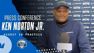 Ken Norton Jr. 2020 Training Camp August 28th Practice Press Conference