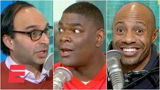 Keyshawn and Zubin get into a heated debate about James Harden and Deshaun Watson   KJZ