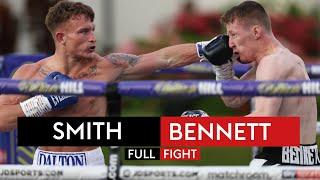 Dalton Smith scores crushing ONE-PUNCH knockout against Nathan Bennett | FULL FIGHT