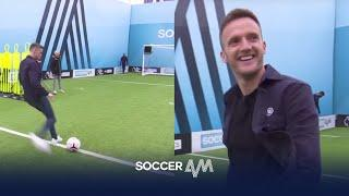 Andy King on FIRE in Soccer AM Pro AM!