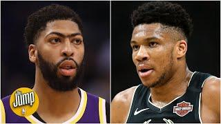 Anthony Davis vs. Giannis: Who has more to prove in the NBA bubble? | The Jump
