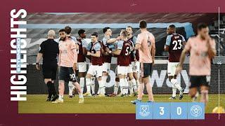EXTENDED HIGHLIGHTS | WEST HAM UNITED 3-0 SHEFFIELD UNITED
