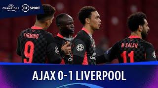 Ajax v Liverpool (0-1) | Champions League Highlights