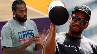 Kawhi Leonard Jokes About His Big Hands & Reveals The Reason He Left Toronto For LA