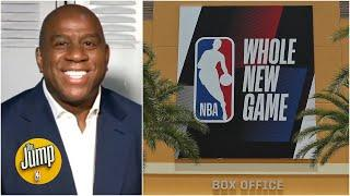 Magic Johnson weighs in on the NBA's bubble | The Jump