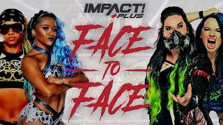 Knockouts Tag Team Championship Competitors FACE OFF Ahead of Hard To Kill! | IMPACT Face To Face