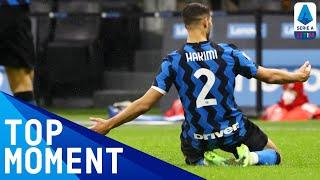 Achraf Hakimi scores wonderful solo goal | Inter 3-1 Bologna | Top Moment | Serie A TIM