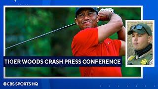 Tiger Woods Crash: Full Press Conference by LA County Sherriff's Department   CBS Sports HQ