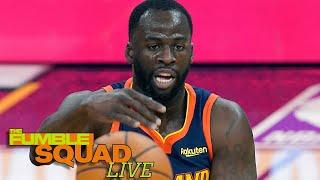 Draymond Green Reacts After Getting EJECTED For Yelling At His Own Teammate | Fumble Live