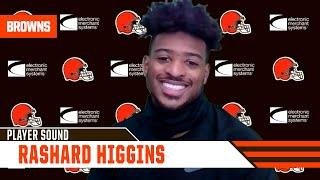 "Rashard Higgins: ""I would love to be here long term, but other than that I just want to win games."""