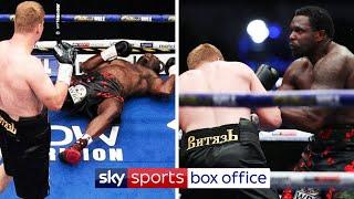 HIGHLIGHTS! DILLIAN WHYTE GETS KNOCKED OUT BY ALEXANDER POVETKIN