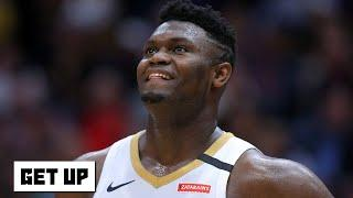 Breaking down how Zion Williamson has exceeded expectations with the Pelicans | Get Up