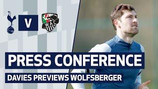 PRESS CONFERENCE | Ben Davies previews Europa League Round of 32 second-leg v Wolfsberger