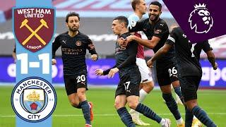 HIGHLIGHTS | West Ham 1-1 Man City | Phil Foden Goal!