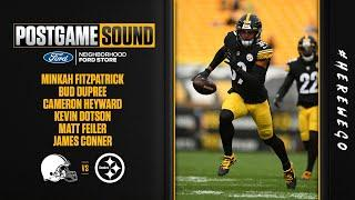 Postgame Sound: Pittsburgh Steelers Week 6 win over the Cleveland Browns