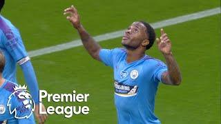 Raheem Sterling puts Manchester City in front against Arsenal | Premier League | NBC Sports