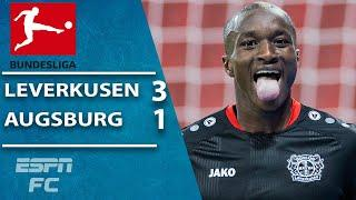 Bayer Leverkusen move to fourth with win vs. Augsburg | ESPN FC Bundesliga Highlights