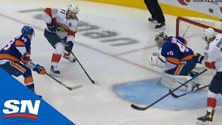 Huberdeau Dances In & Gets Panthers On Board 23 Seconds Into Third