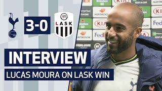 INTERVIEW | Lucas Moura On LASK Victory