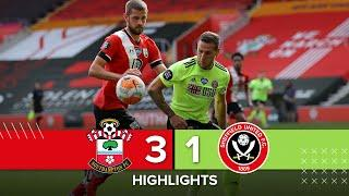 Southampton 3-1 Sheffield United | Premier League Highlights | Adams' goals downs Blades in EPL