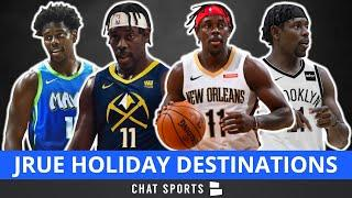NBA Trade Rumors: Jrue Holiday To Contender? How The Bucks, Mavs, Heat & Nets Could Trade For Him