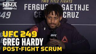 UFC 249: Greg Hardy Aims to Compete on First 'Fight Island' Card - MMA Fighting