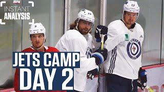 Winnipeg Jets Training Camp Day 2 | Instant Analysis