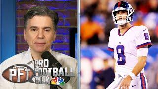 Eli Manning has faith in Giants' Daniel Jones to become leader now | Pro Football Talk | NBC Sports