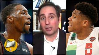 Inside the tricky contract situation involving the Heat, Bam Adebayo and maybe Giannis | The Jump