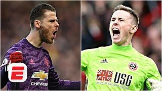 David De Gea vs. Dean Henderson: Who should be Man United's No. 1 next season? | Premier League
