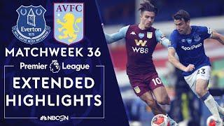 Everton v. Aston Villa | PREMIER LEAGUE HIGHLIGHTS | 7/16/2020 | NBC Sports