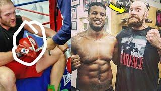 *EXPOSED* TYSON FURY FOR GLOVES BY EX-SPARRING PARTNER EVEN BEFORE WILDER FIGHT (KLITSCHKO CAMP!)
