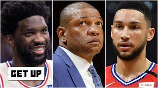 Woj details how Doc Rivers' hiring affects Ben Simmons and Joel Embiid | Get Up