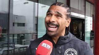 'HE HATES MY GUTS' -DAVID HAYE ON DILLIAN WHYTE, BREAK DOWN USYK-CHISORA, SUGGESTS FURY FIGHTS WHYTE