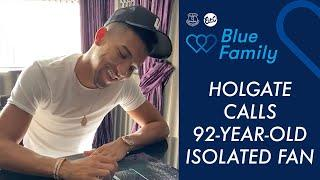 MASON HOLGATE CALLS 92-YEAR-OLD ISOLATED FAN | BLUE FAMILY CAMPAIGN DURING CORONAVIRUS PANDEMIC