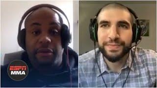 Daniel Cormier reacts to UFC 249 being postponed | DC and Helwani | ESPN MMA