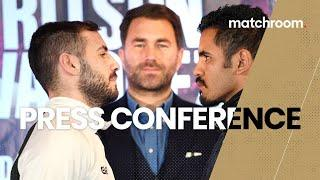 Lewis Ritson vs Miguel Vazquez & undercard press conference
