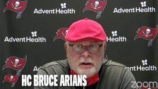 Bruce Arians on Center A.Q. Shipley 'He Gives Us Quality Depth' | Press Conference